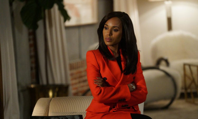 SCANDAL - ÒSomething BorrowedÓ Ð The first half of the epic final season ends with shocking revelations and jaw-dropping events that will leave everyone reeling, on ÒScandal,Ó airing THURSDAY, NOV. 16 (9:00-10:00 p.m. EST), on The ABC Television Network. Kerry Washington