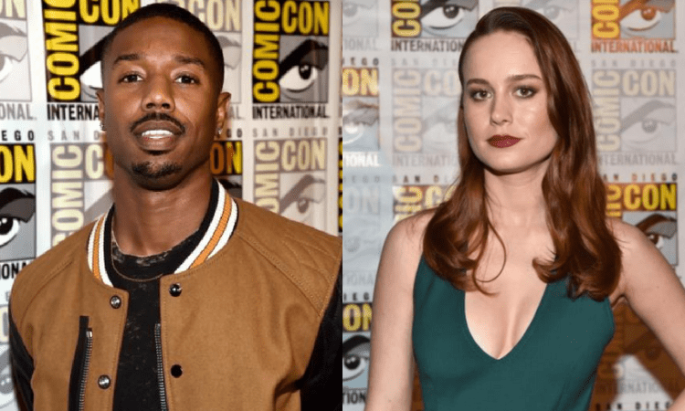 brie larson and michael b jordan team up for �just mercy