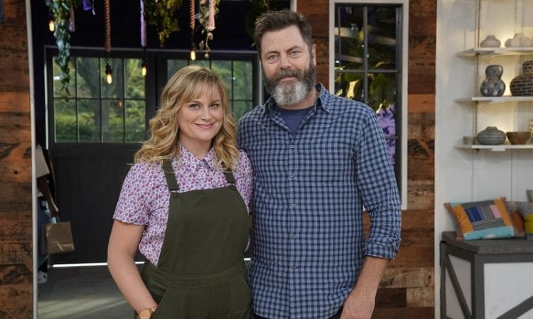 amy poehler and nick offerman s making it renewed for season 2 fan fest for fans by fans. Black Bedroom Furniture Sets. Home Design Ideas