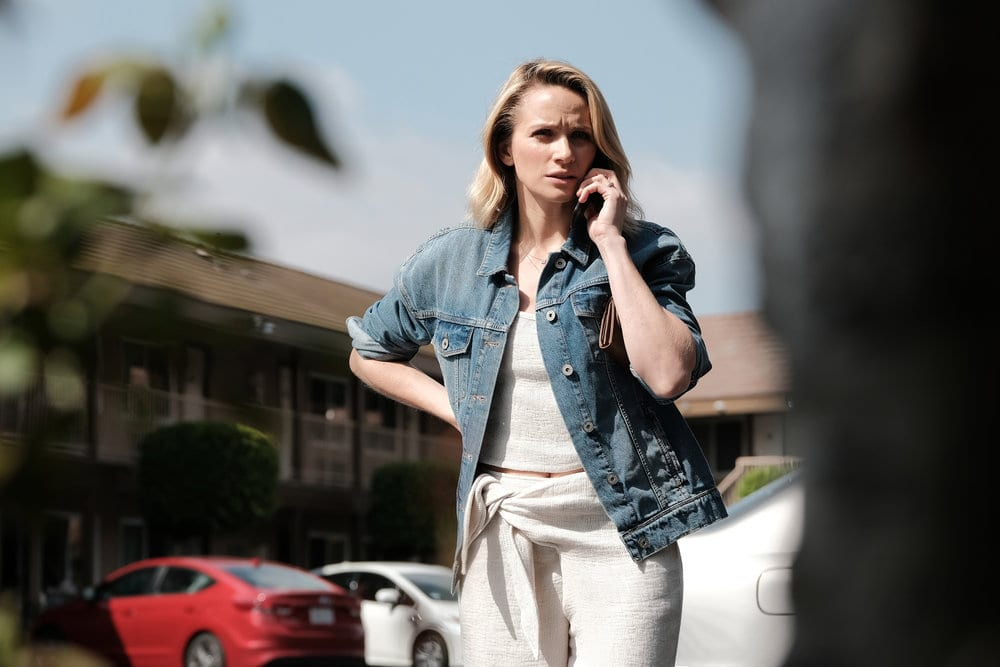 "SHOOTER -- ""A Bullet is Forever"" Episode 311 -- Pictured: Shantel VanSanten as Julie Swagger --"
