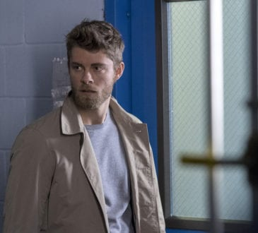 "BLINDSPOT -- ""Galaxy of Minds"" Episode 319 -- Pictured: Luke Mitchell as Roman --"
