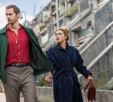 Alexander Skarsgård as Becker, Florence Pugh as Charlie Ross- The Little Drumer Girl _ Season 1, Episode 3 -
