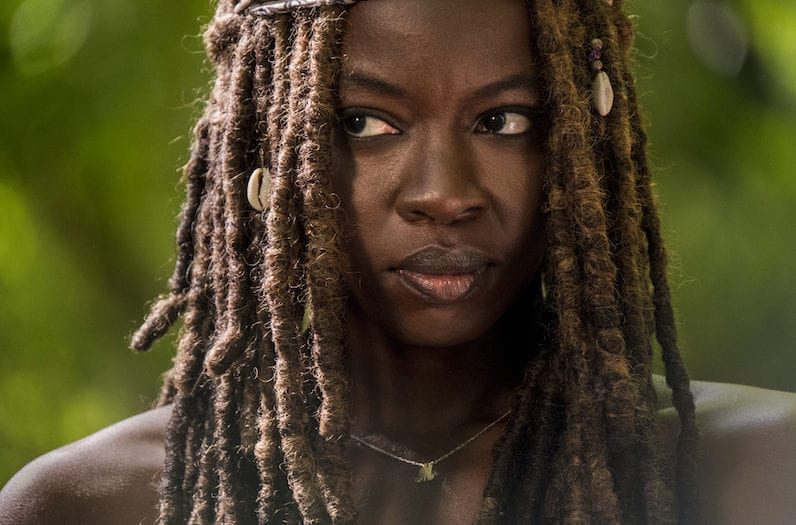 Danai Gurira as Michonne - The Walking Dead _ Season 9, Episode 1 -