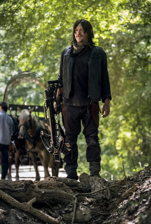 Norman Reedus as Daryl Dixon - The Walking Dead _ Season 9, Episode 1 -