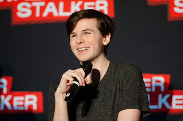 Chandler riggs on andrew lincolns departure ive always looked up chandler riggs on andrew lincolns departure ive always looked up to him hes such an inspiring person fan fest for fans by fans m4hsunfo