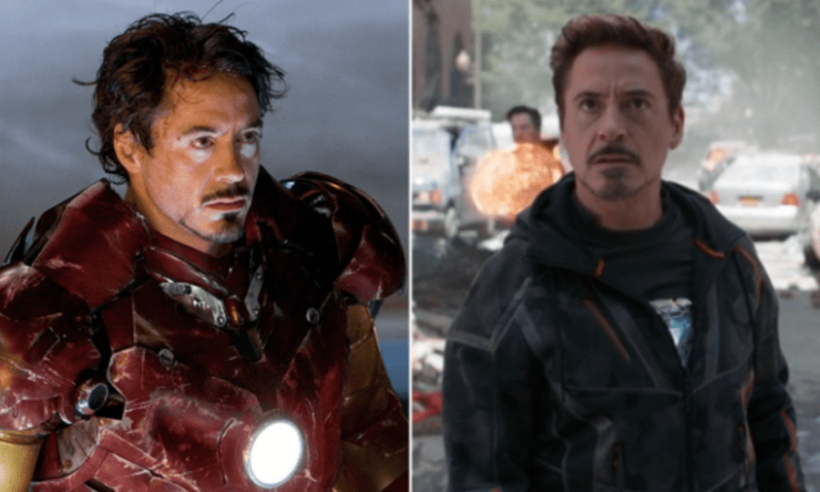 robert downey jr infinity war