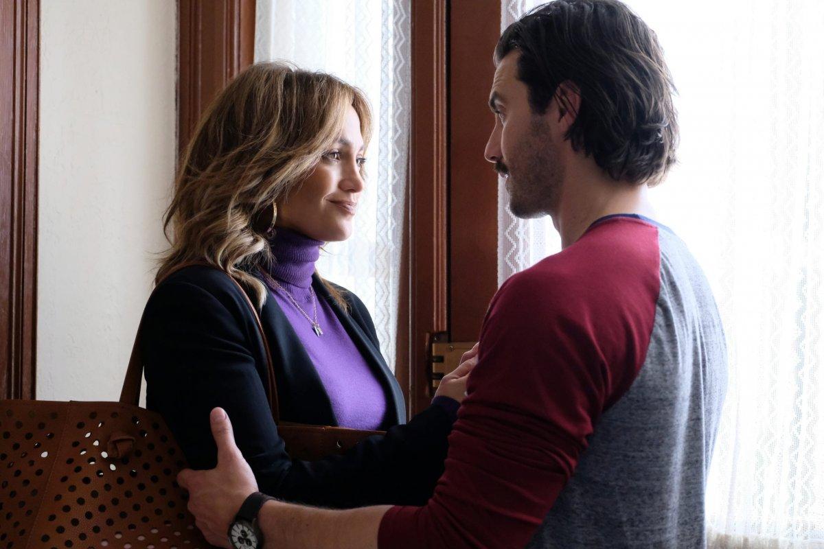 Jennifer Lopez and Milo Ventimiglia star in SECOND ACT.