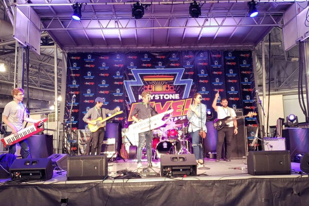 Keystone Comic Con, Live Stage
