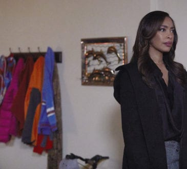 """SUITS -- """"Good-Bye"""" Episode 716 -- Pictured: Gina Torres as Jessica Pearson --"""