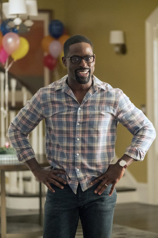 """THIS IS US -- """"Ave Maria"""" Episode 301 -- Pictured: Sterling K. Brown as Randall -- (Photo by: Ron Batzdorff/NBC)"""