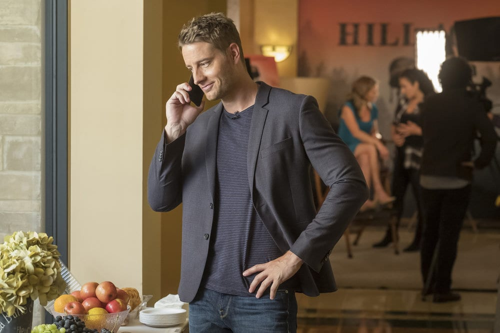 """THIS IS US -- """"Ave Maria"""" Episode 301 -- Pictured: Justin Hartley as Kevin -- (Photo by: Ron Batzdorff/NBC)"""