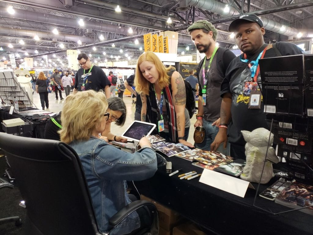Sandy King-Carpenter, Keystone Comic Con