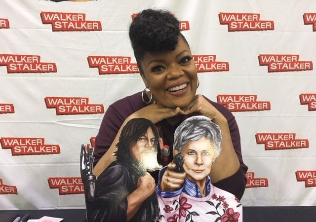Yvette Nicole Brown at Walker Stalker Atlanta Photo credit: Tracey Phillipps/FanFest