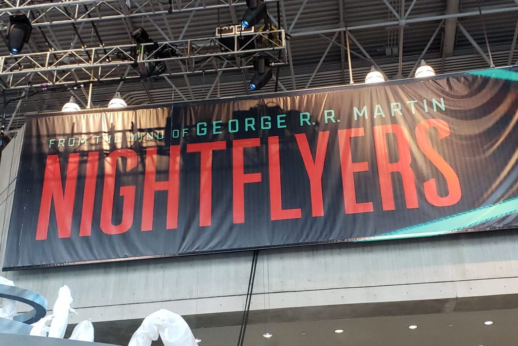Nightflyers, George R.R. Martin, New York Comic Con 001