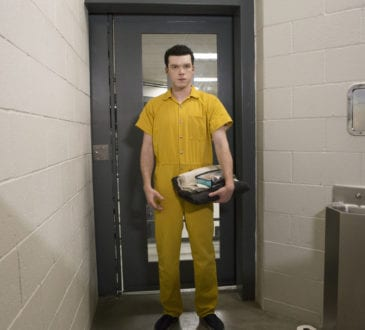 """Cameron Monaghan as Ian Gallagher in SHAMELESS (Season 9, Episode 06, """"Face It, You're Gorgeous""""). -"""