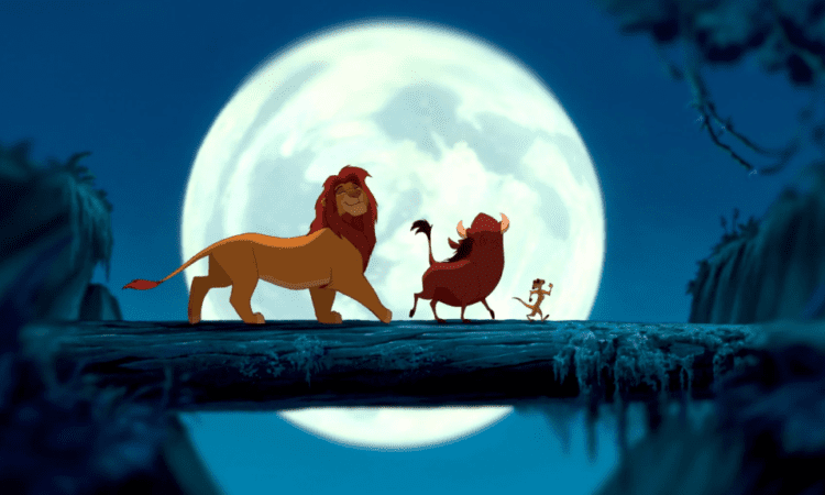this photo of the lion king cast will have you saying hakuna