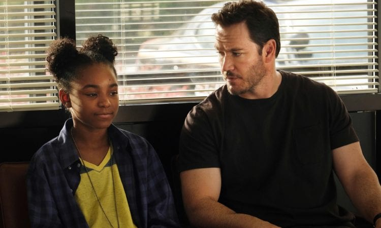 THE PASSAGE: L-R: Saniyya Sidney and Mark-Paul Gosselaar in THE PASSAGE premiering midseason on FOX. ©2018 Fox Broadcasting Co.