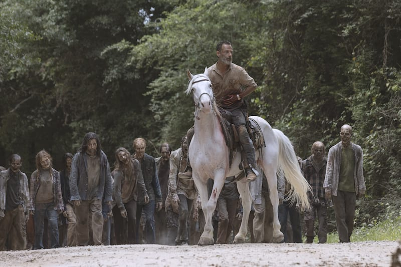 Andrew Lincoln as Rick Grimes - The Walking Dead _ Season 9, Episode 5 - Photo