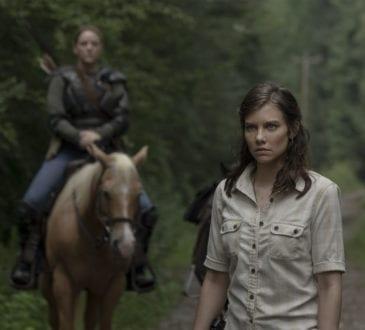 Lauren Cohan as Maggie Rhee, Kerry Cahill as Dianne- The Walking Dead _ Season 9, Episode 5 -