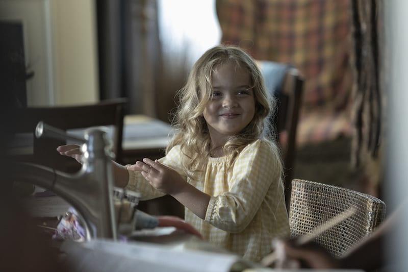 Chloe Garcia-Frizzi as Judith - The Walking Dead _ Season 9, Episode 5 -