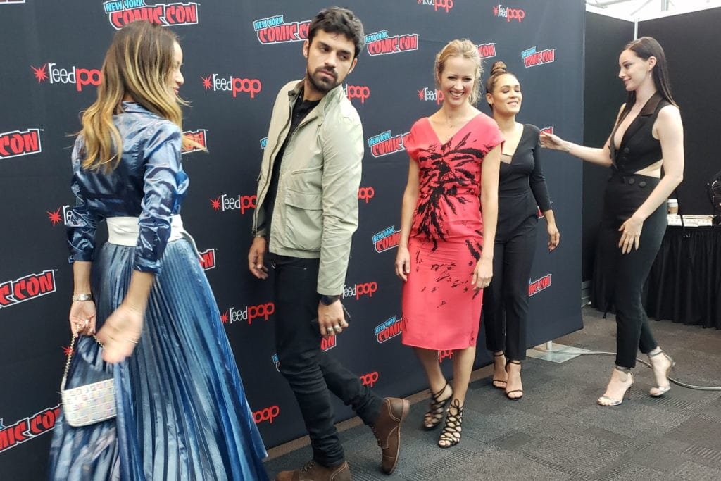 The Gifted, Jamie Chung, Sean Teale,Amy Acker, Grace Byers, Emma Dumont, New York Comic Con