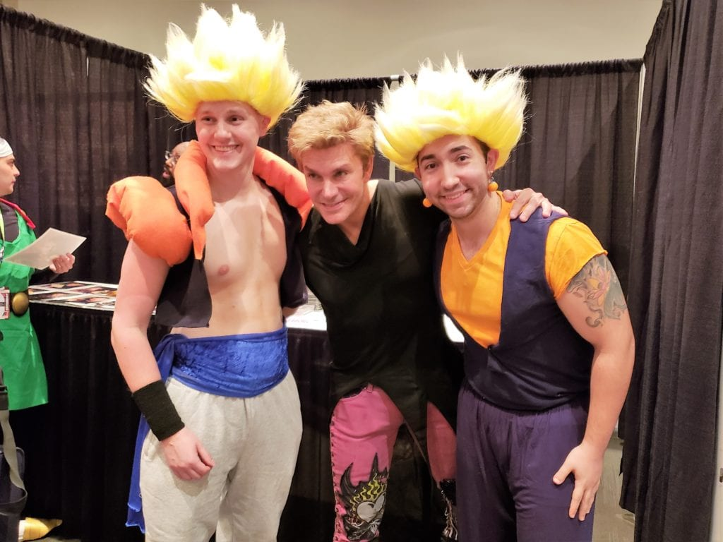 Anime NYC 2018, Vic Mignogna