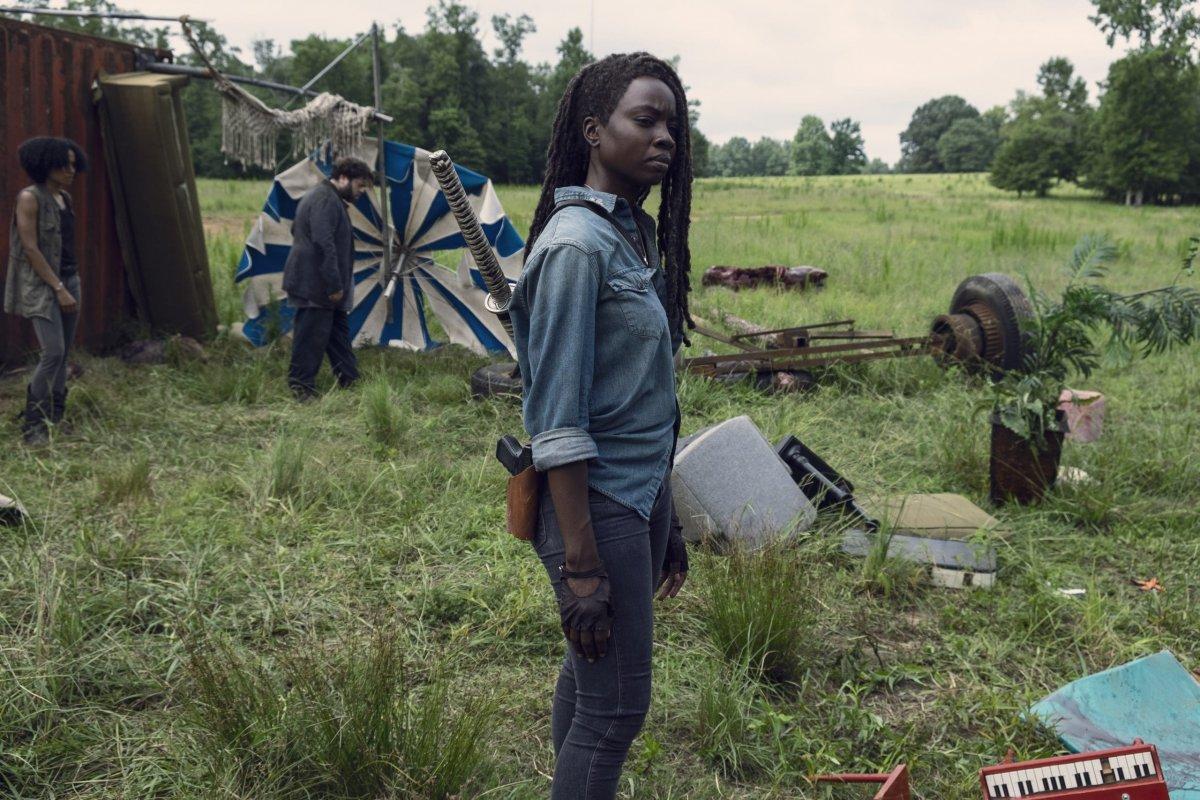Danai Gurira as Michonne- The Walking Dead _ Season 9, Episode 7 -