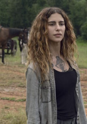 Nadia Hilker as Magna - The Walking Dead _ Season 9, Episode 7 - P