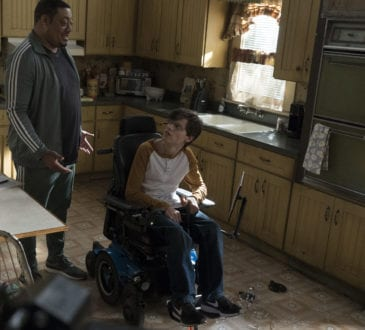 "SPEECHLESS - ""F-O-- FOLLOW T-H-R-- THROUGH"" The ABC Television Network. (ABC/Richard Cartwright) CEDRIC YARBROUGH, MICAH FOWLER"