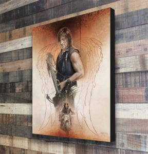 Yuletide Guide - The Walking Dead - The Drifter canvas