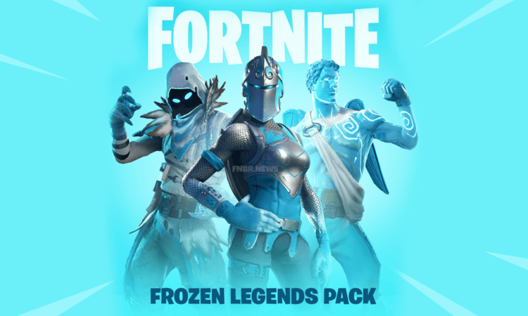 fortnite releases frozen legends pack - marvel legends pack fortnite
