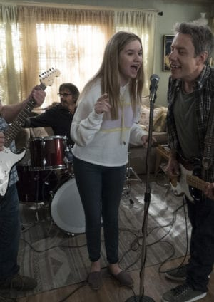 "SPEECHLESS - ""H-- HEY, YOU"" The ABC Television Network. (ABC/Richard Cartwright) KYLE GASS, ROB BRUNER, KYLA KENEDY, JOHN ROSS BOWIE, DEREK BASCO"