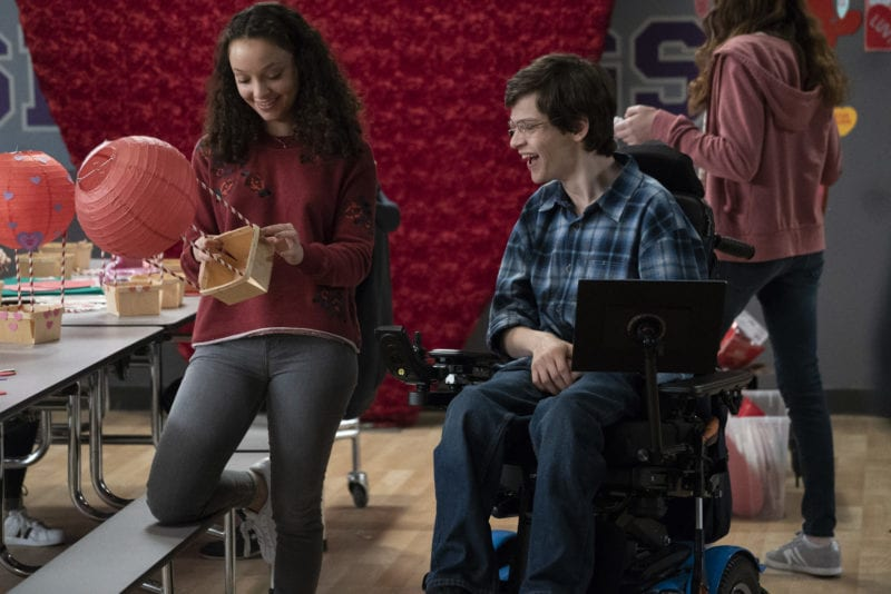 """SPEECHLESS - """"O--OUR M-A-G--MAGEDDON"""" - The ABC Television Network. (ABC/Richard Cartwright) KAYLA MAISONET, MICAH FOWLER"""