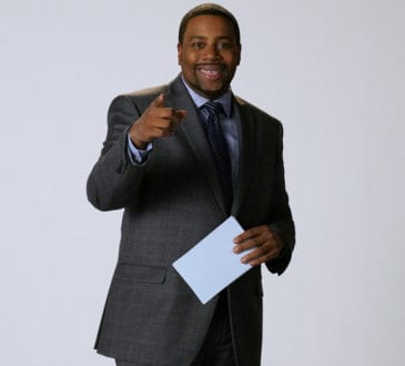 """SATURDAY NIGHT LIVE -- """"Matt Damon"""" Episode 1755 -- Pictured: Kenan Thompson as Michael Strahan during the """"Oscar Host Auditions"""" sketch on Saturday, December 15, 2018 -- ("""
