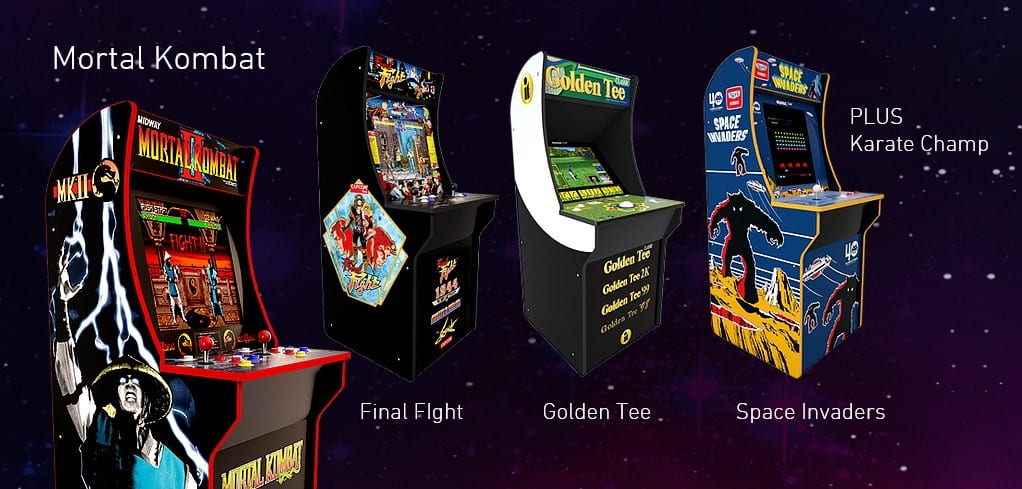 Photo Credit: Arcade1Up's Official Website