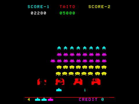Space Invaders Color Arcade
