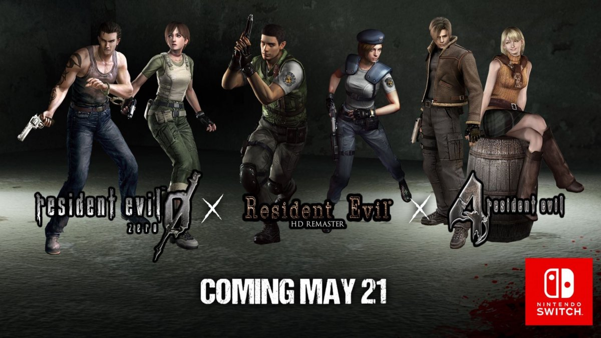 Resident Evil Zero 1 And 4 Are Headed To Nintendo Switch Fan Fest For Fans By Fans