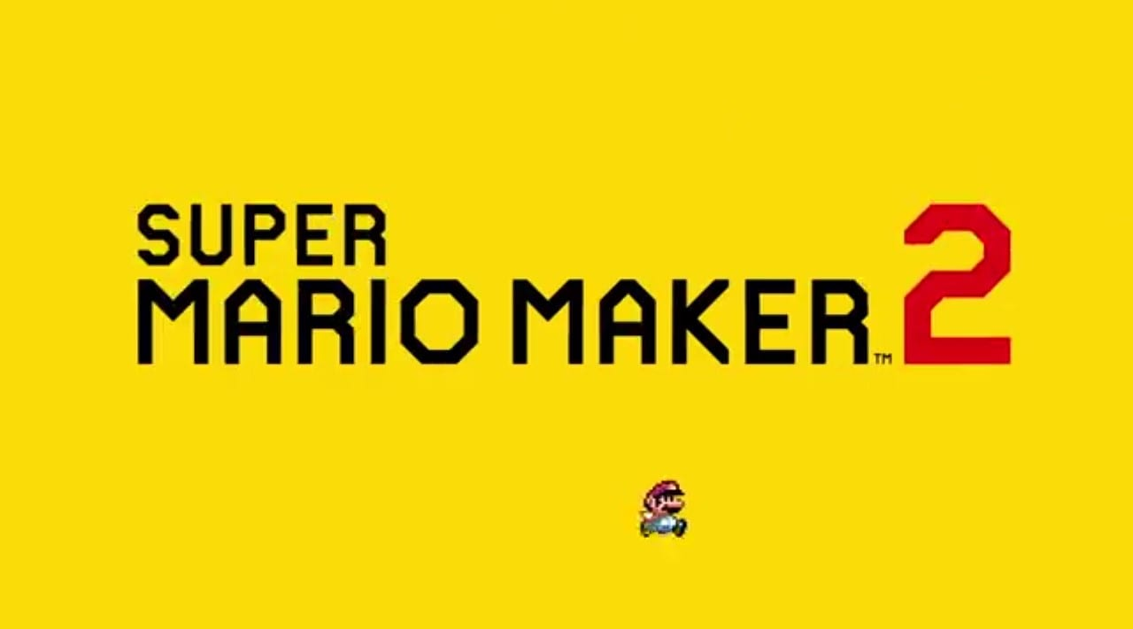 Image from the 'Super Mario Maker 2' Announcement Trailer