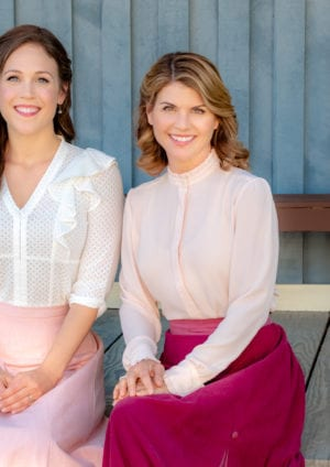 Photo: Erin Krakow, Lori Loughlin Credit: ©2019 Crown Media United States LLC/Photographer: David Dolsen
