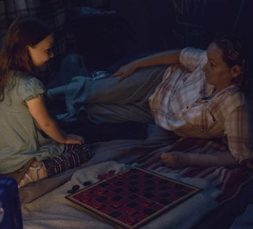 Scarlett Blum as Young Lydia, Samantha Morton as Alpha - The Walking Dead _ Season 9, Episode 10 -