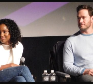 Saniyya Sidney and Mark_Paul Gosselaar of The Passage at aTVfest photo credit: Tracey Phillipps