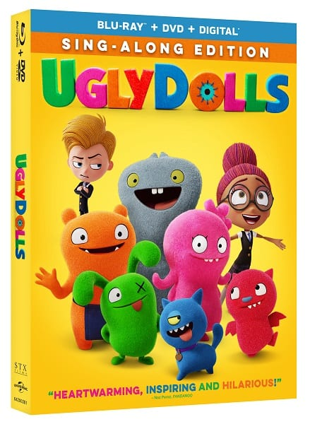 Ugly Dolls - Blu-ray and DVD