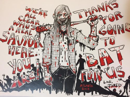 Thank You artwork by Joshua Mikel