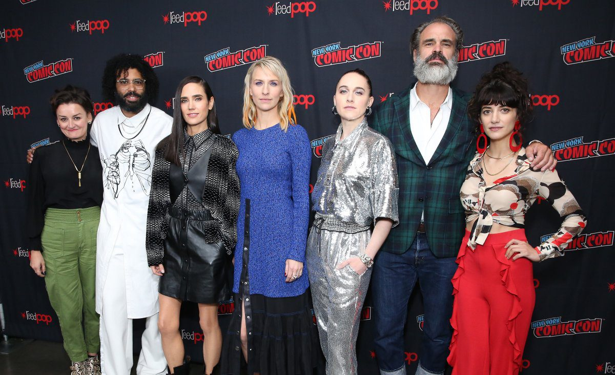 Snowpiercer, Alison Wright, Daveed Diggs, Jennifer Connelly, Mickey Sumner, Lena Hall, Steven Ogg. Sheila Vand, NYCC