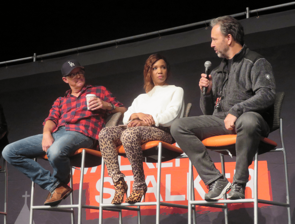 Matthew Lillard, Elise Neal, & Chris Durand - Scream Panel