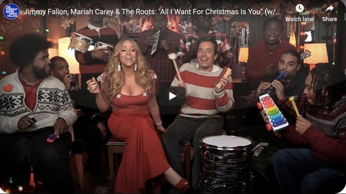 Mariah Carey, Jimmy Fallon & The Roots