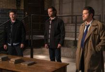 Dean, Sam, Cas - Jensen Ackles, Jared Padalecki, Misha Collins - Supernatural - Our Father, Who Aren't in Heaven