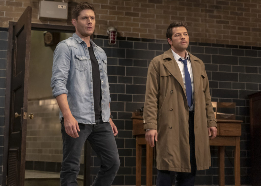Dean, Cas - Jensen Ackles, Misha Collins - Supernatural - Our Father, Who Aren't in Heaven