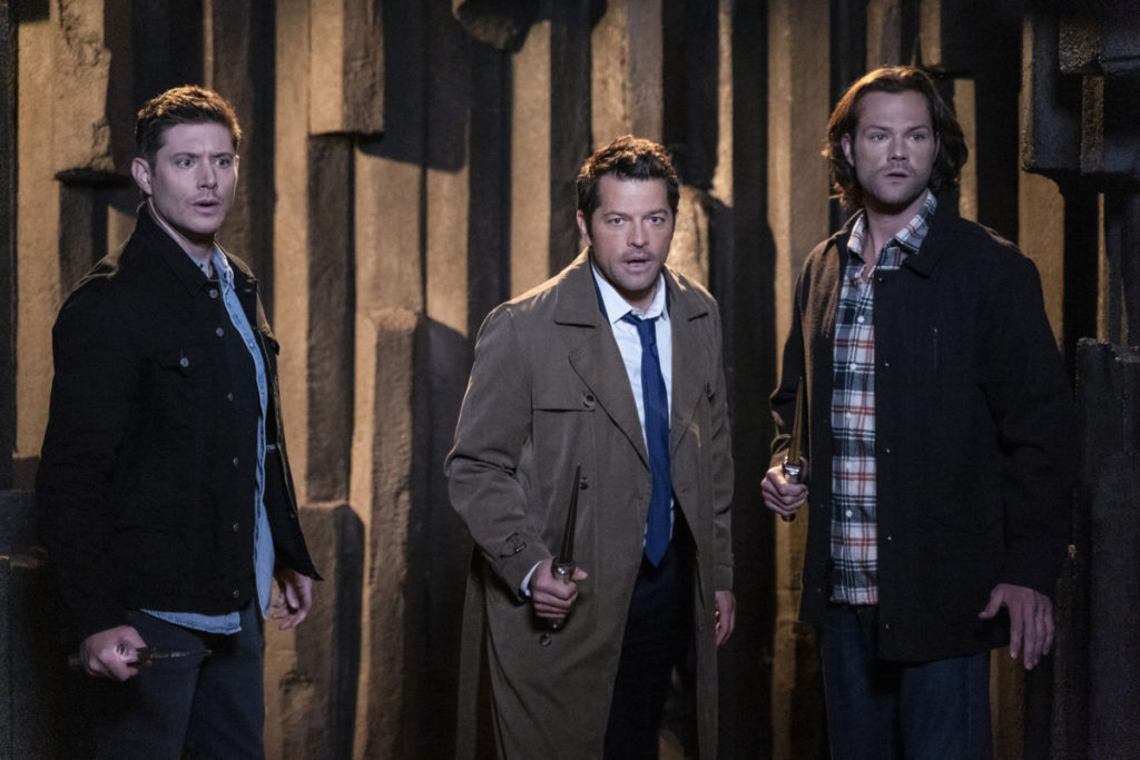 Dean, Sam, Cas - Jensen Ackles, Jared Padalecki, Misha Collins - Supernatural - Our Father, Who Aren't in Heaven