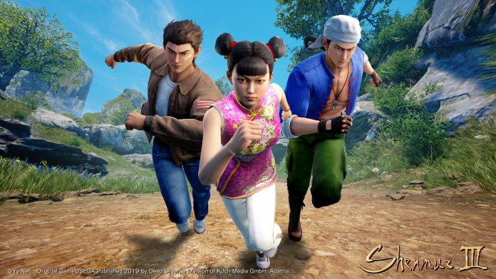 Shenmue 3 battle cry
